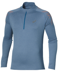 Рубашка беговая Asics Stripe 1/2 Zip мужская