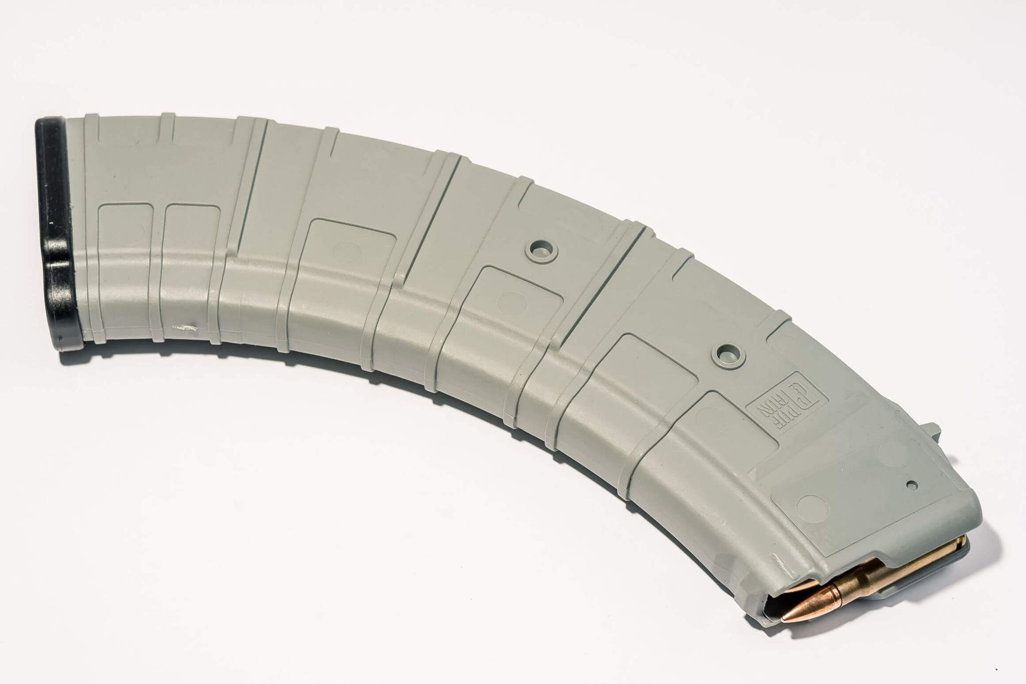 Магазин Pufgun для АКМ 7.62x39 ВПО-136 ВПО-209 на 40 патронов, серый