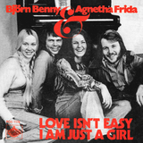 ABBA / Love Isn't Easy (But It Sure Is Hard Enough) + I Am Just A Girl (7' Vinyl Single)