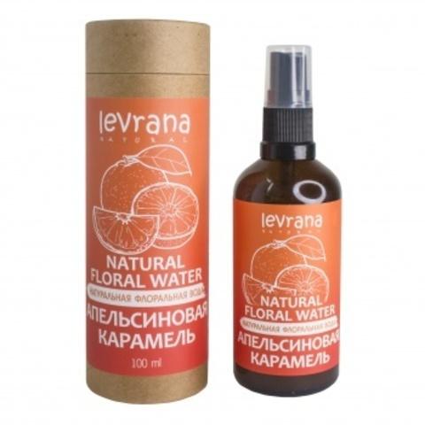 Флоральная вода для лица и тела. Апельсиновая карамель, 100мл (Levrana)
