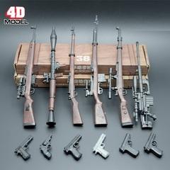 Оружие для фигурок 1/6 огнестрельное сборное