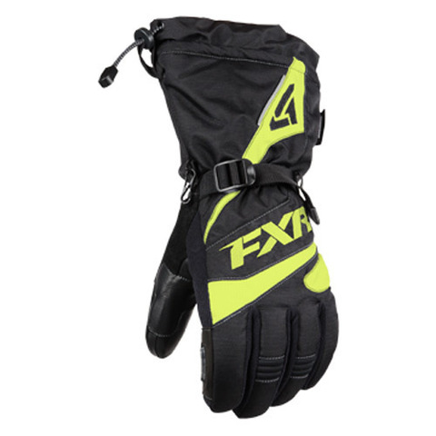 Перчатки FXR Fuel 15 Black-Hi Vis