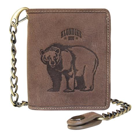 Бумажник мужской KLONDIKE «Wayne Bear»