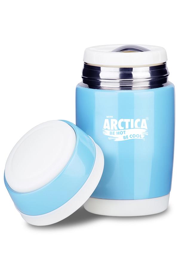 Термос для еды Арктика (0,48 литра), голубой