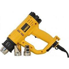 Электрический фен ручной DeWalt D26414 (2000Вт,650л/мин,50-600°C,кор., 4насадки, LED дисплей)