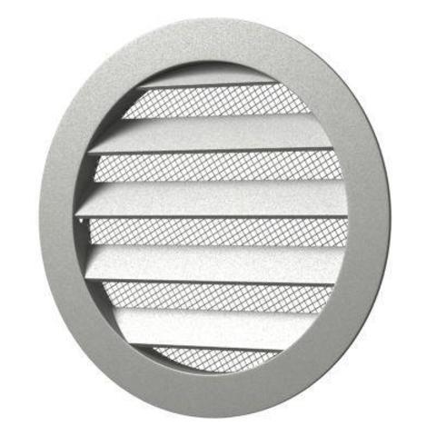 40РКМ Антивандальная алюминиевая наружная решетка Эра