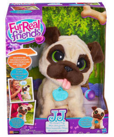 Furreal Friends My Jumping Pug Pet Toy