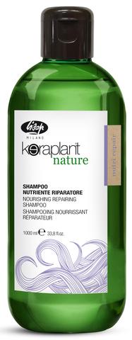 Шампунь для глубокого питания и увлажнения волос  Lisap Keraplant 1000 мл