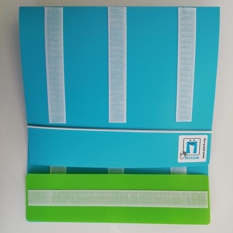 Папка для карточек Пекс с ремешком