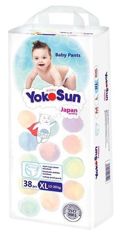 трусики YokoSun XL 38шт 12-20 кг