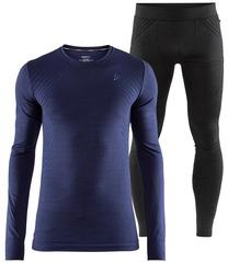 Комплект термобелья Craft Fuseknit Comfort Blue-Black мужской
