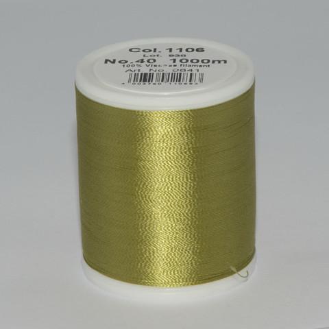 Madeira Rayon №40 1000м (col. 1106)