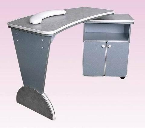 Стол маникюрный с мобильной тумбой 2-Б