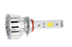 LED лампы головного света C-3 HB4, (встроенный радиатор с вентилятором) комп.