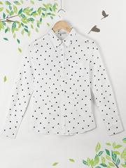 21061 рубашка женская, белая