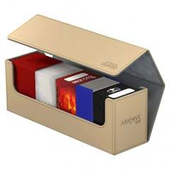 Ultimate Guard - Песочная кожаная коробочка для хранения 400+ карт