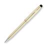 Шариковая ручка Cross Century II 10Ct Rolled Gold Mblack (4502WG) cross шариковая ручка cross 4502wg