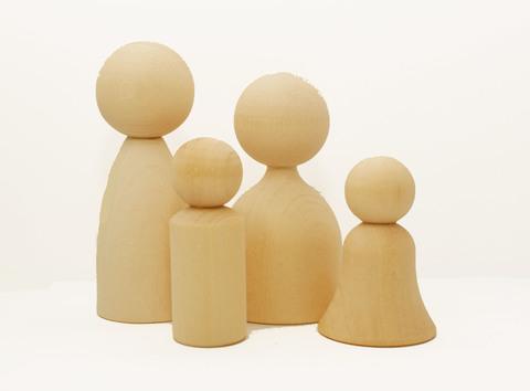 056-3771  Человечки, деревянная заготовка