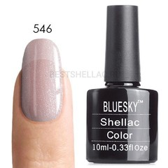 Гель-лак Bluesky № 40546/80546 Grapefruit Sparkle, 10 мл