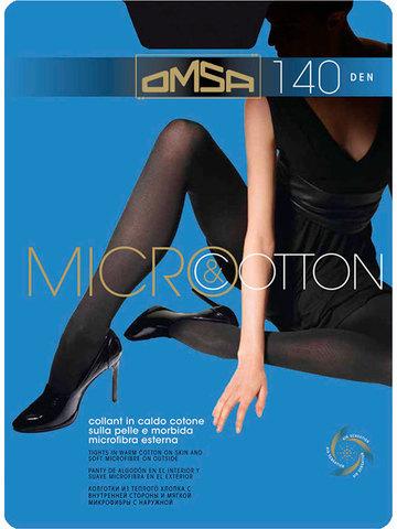 Женские колготки Micro&Cotton 140 Omsa