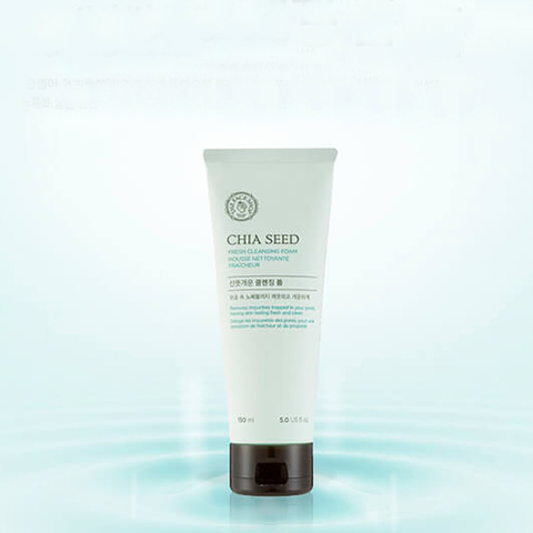 THE FACE SHOP Chia Seed Fresh Cleansing Foam, 150 ml