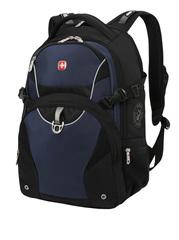 Рюкзак WENGER, цвет чёрный/синий (3263203410)