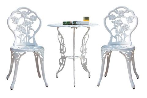 Комплект литой мебели «РОЗА»
