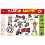 Большой магнитный конструктор 198 деталей 1