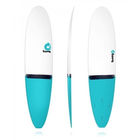 Серфборд TORQ Epoxy 8'0 Longboard Blue Tail