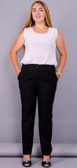 Элия. Классические батальные женские брюки . Черный.