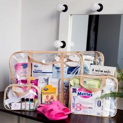 Готовая сумка в роддом для мамы и малыша Премиум