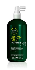 Объемообразующий спрей-фиксатор с экстрактами лимона и шалфея - Paul Mitchell Lemon Sage Thickening Spray 200 мл