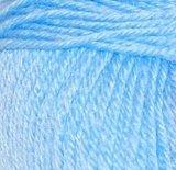 Пряжа Пехорка Детский каприз голубой 05