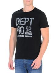 MF13-006/07п футболка мужская, черная
