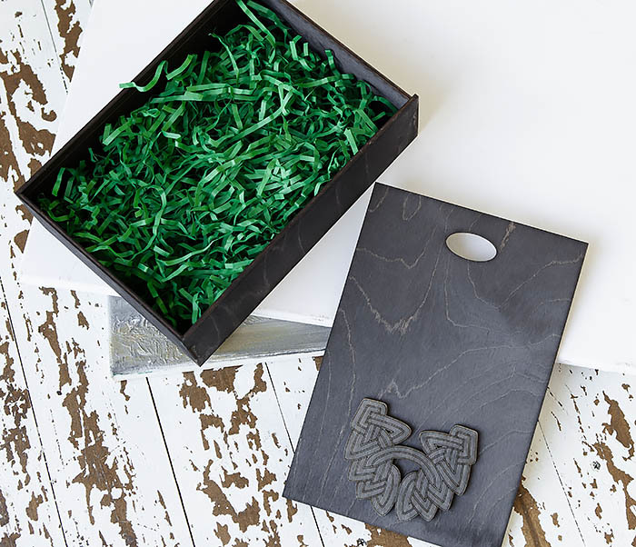 BOX230-1 Фирменная подарочная коробка с логотипом (18*26*7,5 см) фото 07