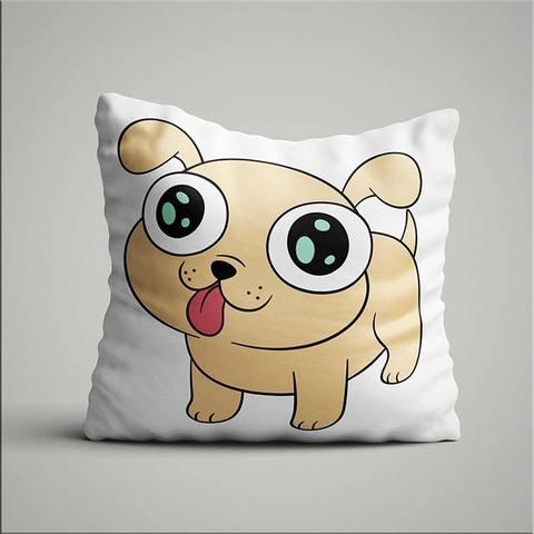 Подушка с лазерным щенком