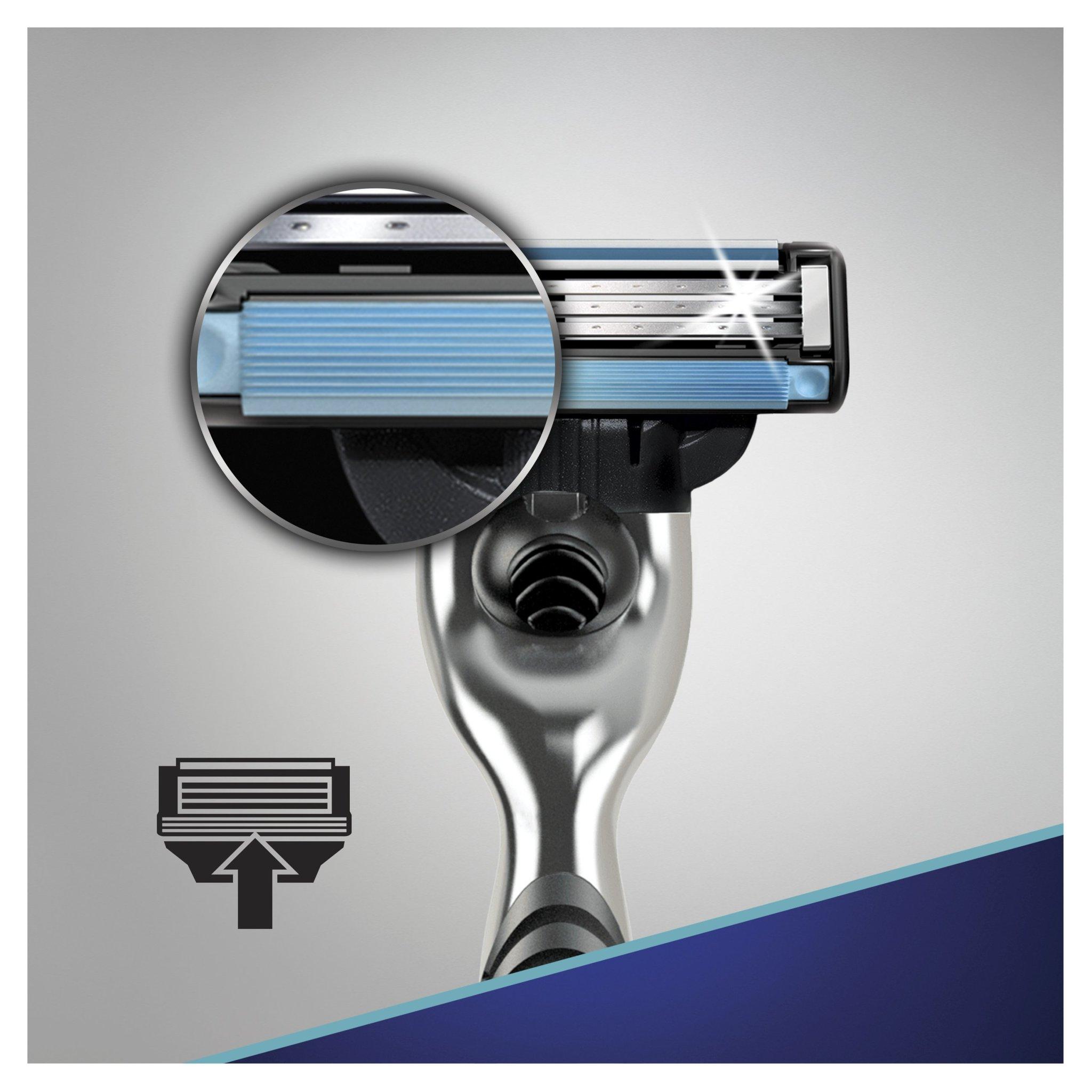 Кассеты для бритья Gillette mach3 8 шт