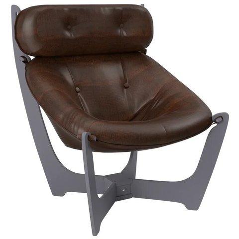 Кресло для отдыха Комфорт Модель 11 маренго/Antik Crocodile, 013.011