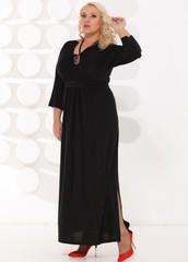 Платье Макси в классическом стиле