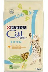 Корм для котят, Purina Cat Chow, с домашней птицей