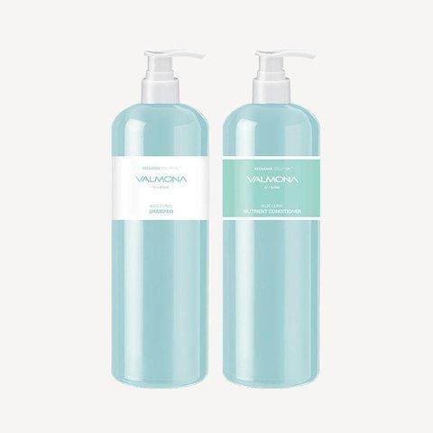 Увлажняющий шампунь для волос 480 мл Valmona Recharge Solution Blue Clinic Nutrient Shampoo