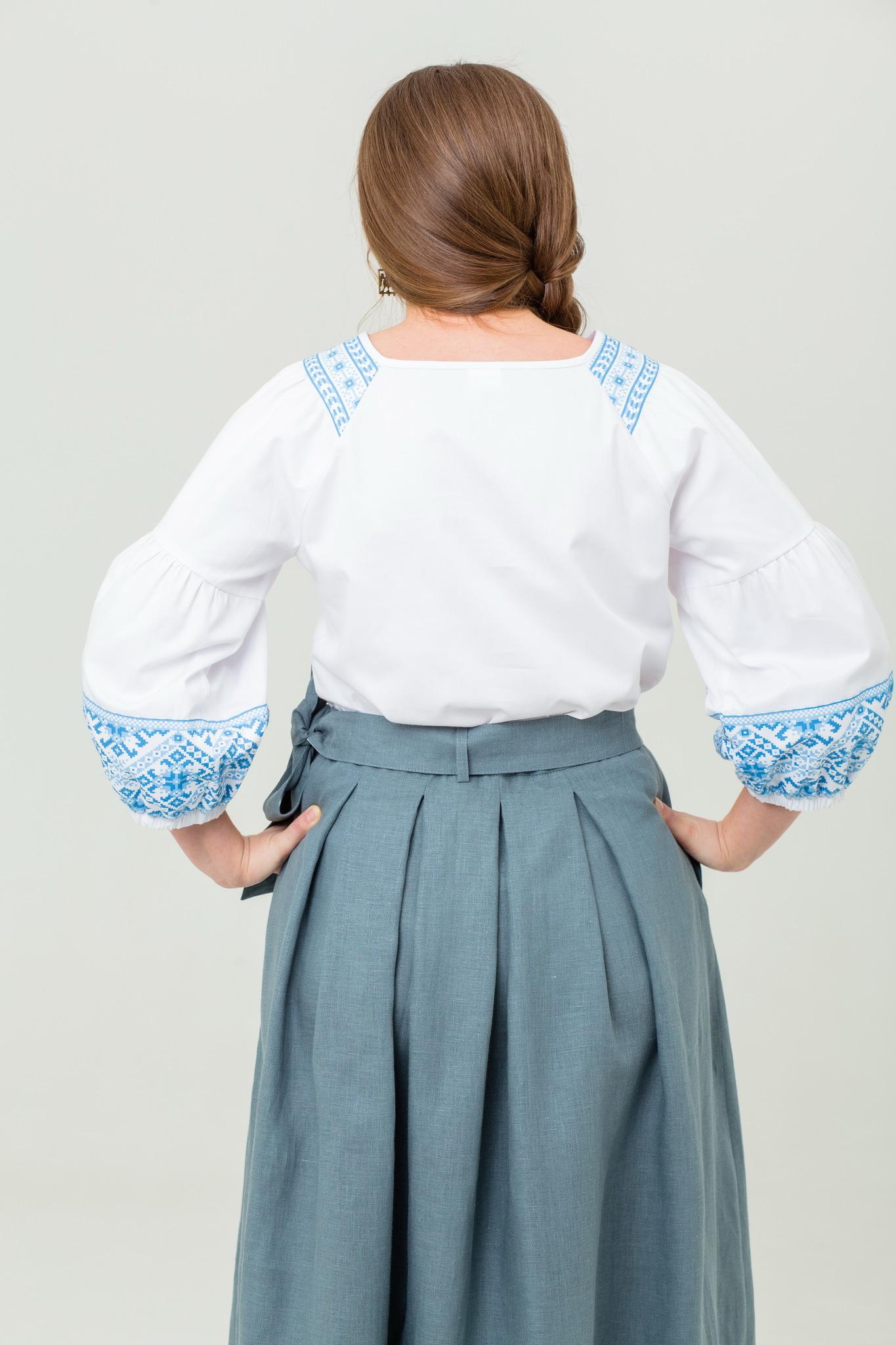 Блуза хлопковая Василиса купить с доставкой