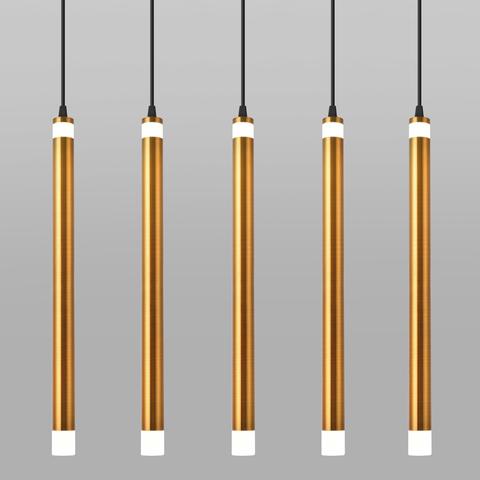 Подвесной светодиодный светильник 50133/5 LED бронза