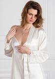 Шелковый комплект: халат и ночная сорочка Pellegrini