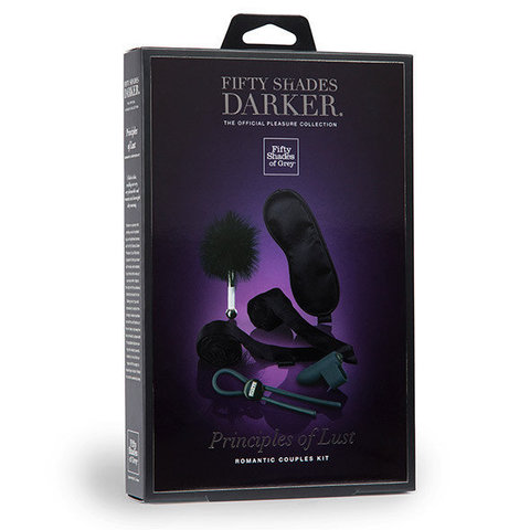 Набор Fifty Shades Of Grey  - Darker Principles Of Lust Romance Couples Kit