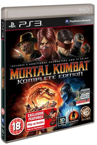 Sony PS3 Mortal Kombat Komplete Edition (русская документация)