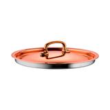 Крышка 24 см, медь, нержавеющая сталь, Gustibus, артикул 25261-24, производитель - Ruffoni