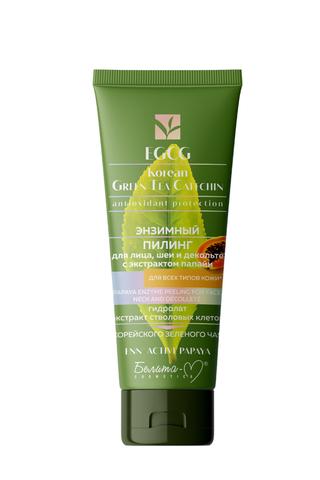 Белита-М EGCG Korean Green Tea Catechin Энзимный пилинг для лица, шеи и декольте Для всех типов кожи 60г