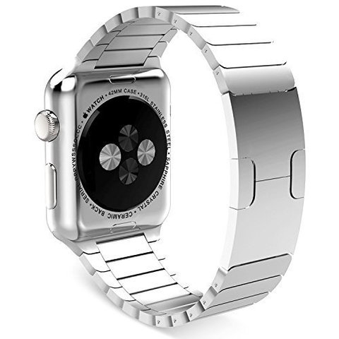 Ремешок Apple watch 42/44mm Link Bracelet /silver/ серебро