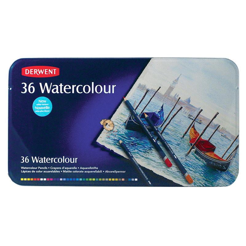Набор из 36 акварельных карандашей Derwent Watercolour